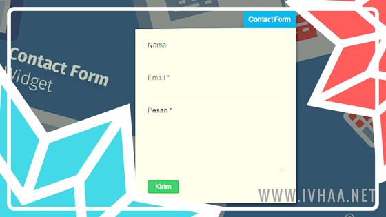 Cara Memasang Contact From di Blogger Pada Halaman Statis di Blog AMP