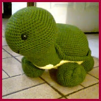 Preciosa tortuga amigurumi