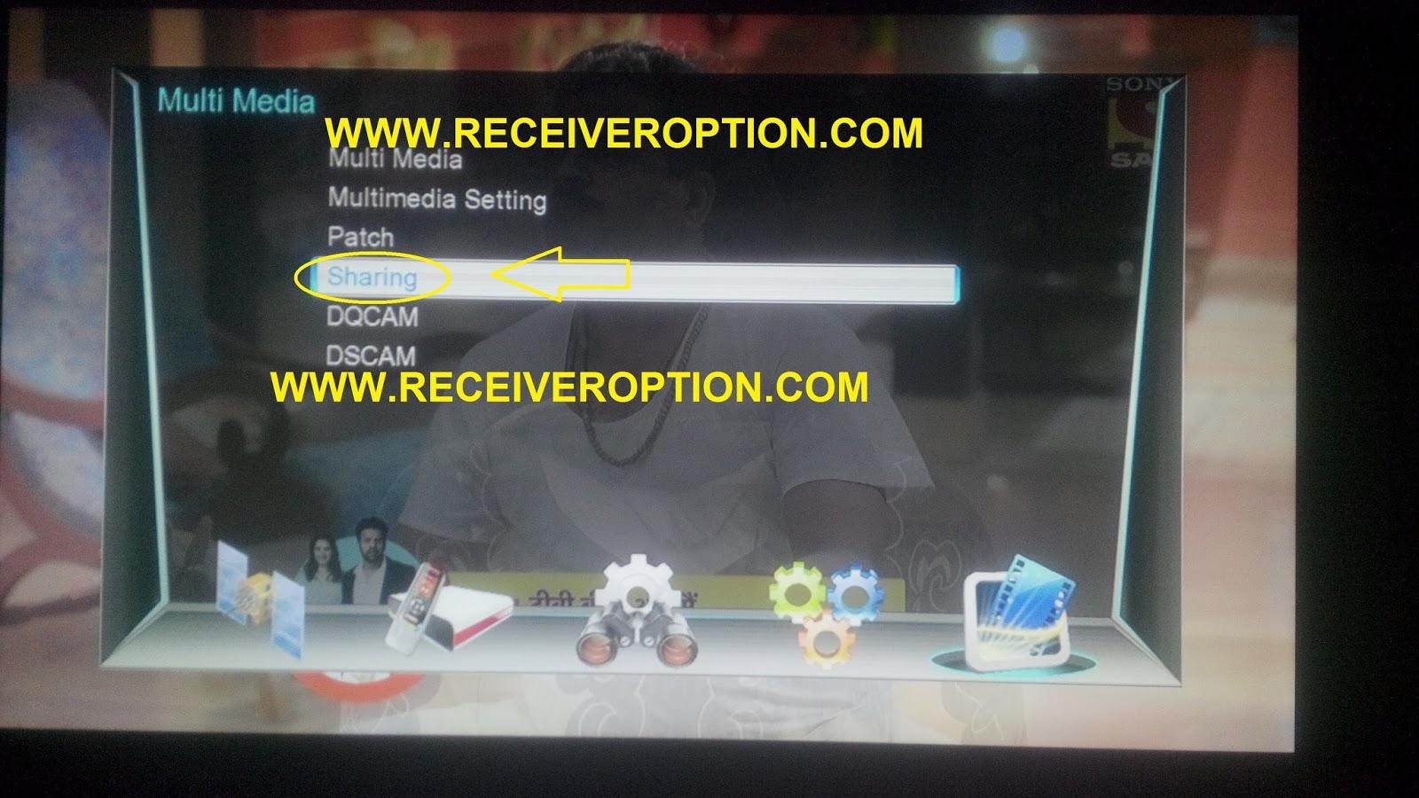 NEOSET I 5000 HD RECEIVER CCCAM OPTION - HOW TO ENTER BISS