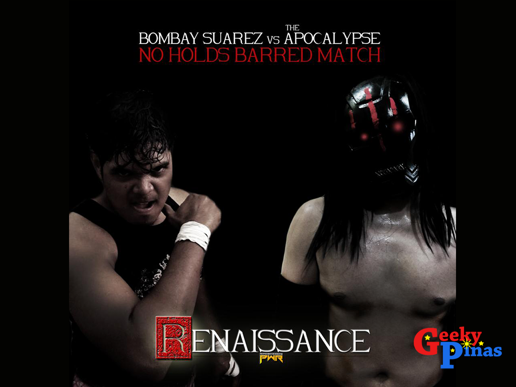 "Philippine Wrestling Revolution Presents ""Renaissance"" Pro-Wrestling Event (Raffle)"
