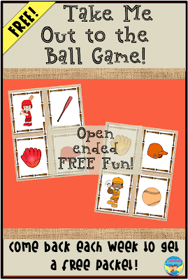 Have a little open ended  baseball fun with this free download from Looks Like Language!