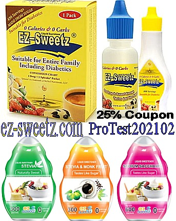 EzSweetz 25% off exclusive PROMO