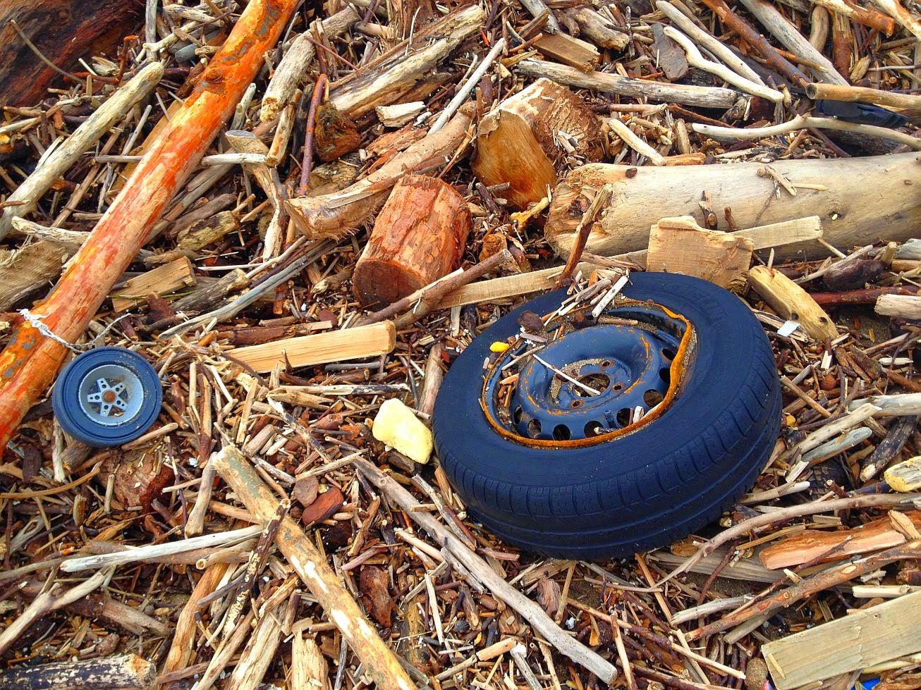 basura en la playa 01