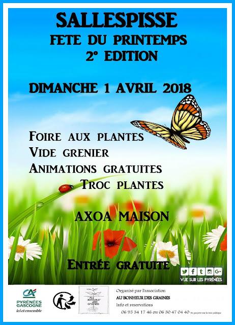 Fête du Printemps Sallespisse Pyrénées 2018