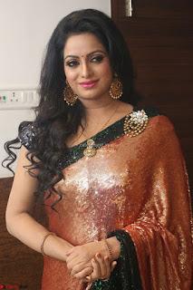 Udaya Bhanu lookssizzling in a Saree Choli at Gautam Nanda music launchi ~ Exclusive Celebrities Galleries 057.JPG