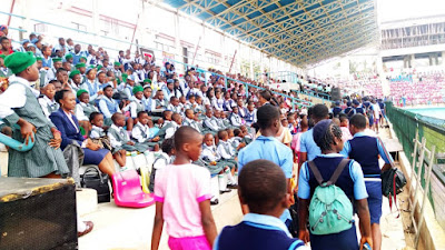 #ChildrensDay: The Arrival of Private Schools in Anambra State at FC IfeanyiUbah International Stadium