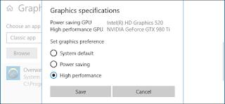 Cara Mudah Memilih GPU Yang digunakan Game di Windows