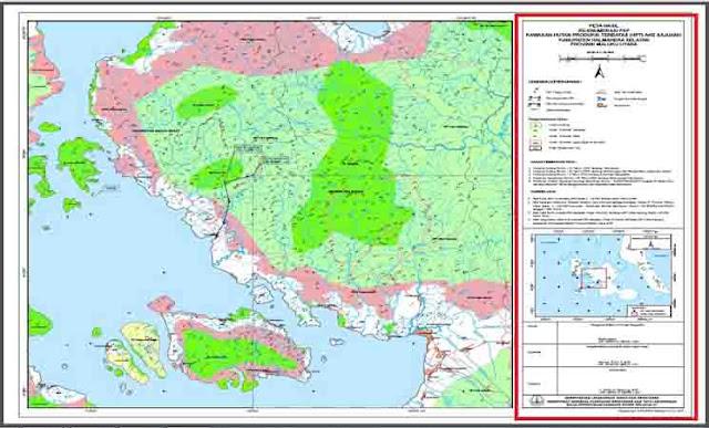 Pengertian Informasi Tepi Pada Peta