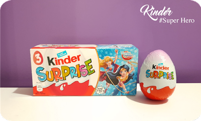 Kinder Surprise : DC Super Hero Girls