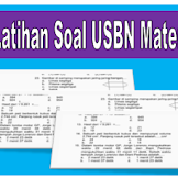 Download Latihan Soal USBN Matematika SD/MI 2020