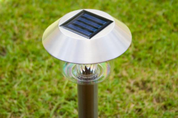 Solar Garden Lamp Schematic