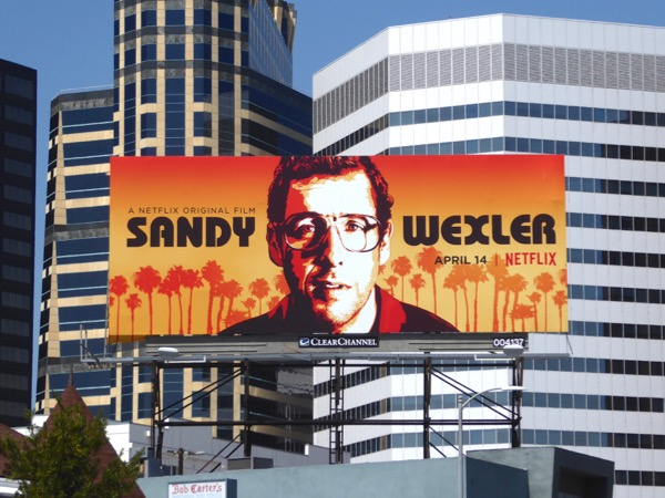 Sandy Wexler movie billboard