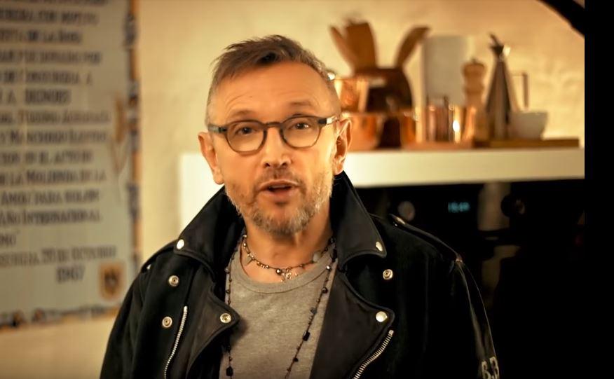 Attore Franke pubblicità Bruno Barbieri cucina con Foto - Aprile 2017