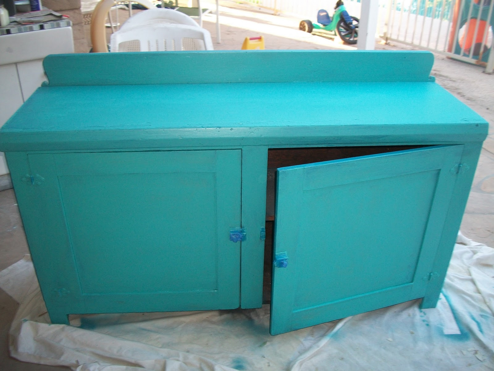 My Dear Trash Ugly Furniture Turned Lovely