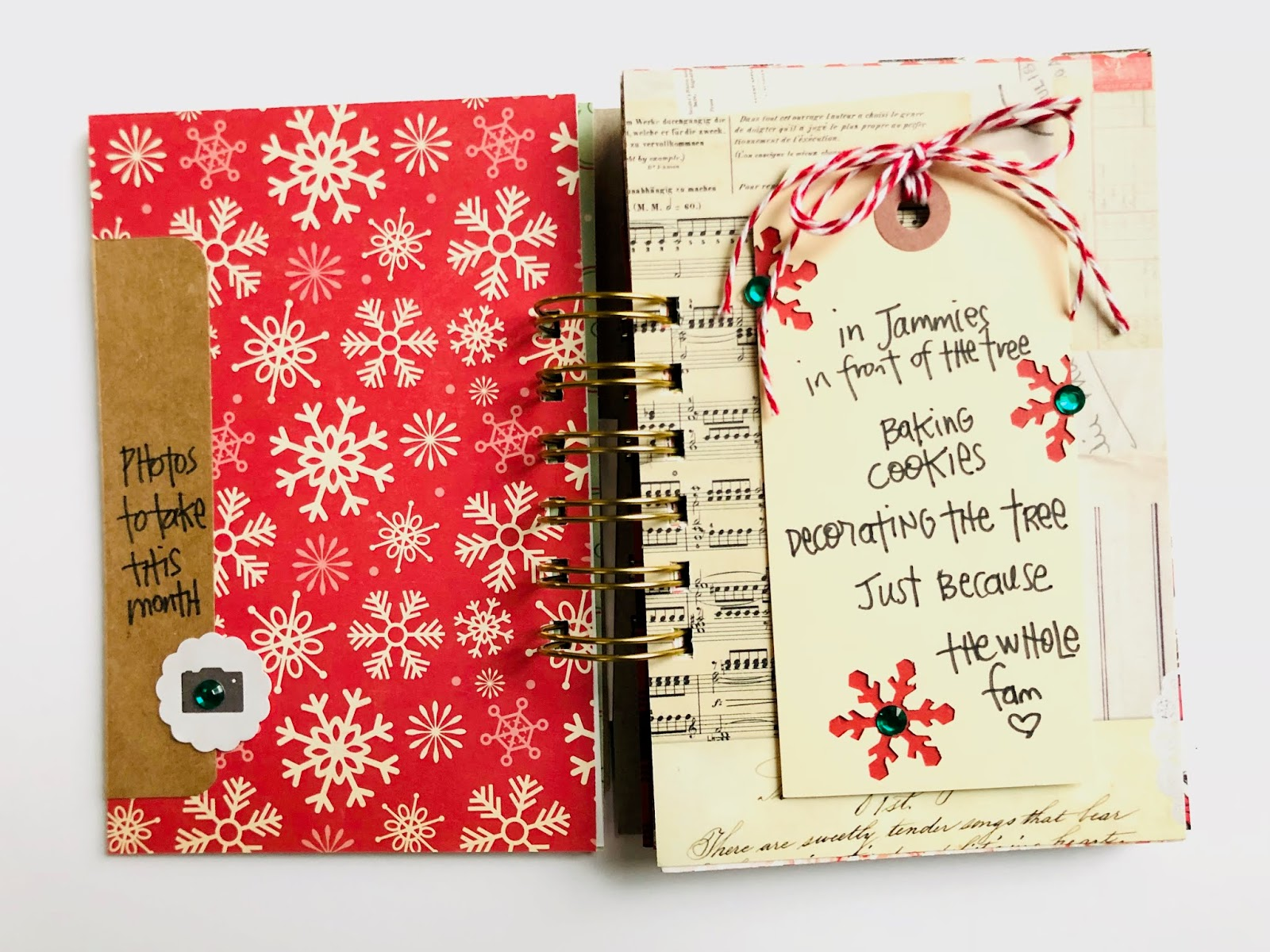 #30 Days of Lists #30lists #list challenge #December Lists #mini book #mini album #I Love It All