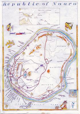 全世界最小的共和國度-諾魯
