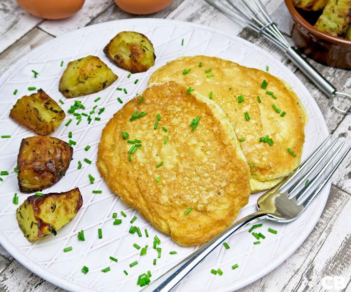 Recept Schnitzels in een jasje van luchtige schuimomelet: omeletschnitzels!