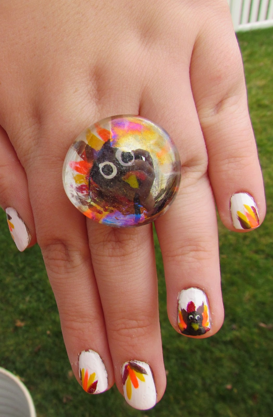 Karen Loves Nail Polish: NOTD: Happy Thanksgiving!