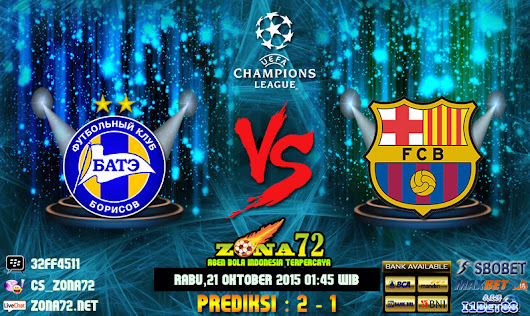 Agen Bola Indonesia - Prediksi Bate VS Barcelona 21 Oktober 2015 | Agen Bola Online Eternally-Distracted