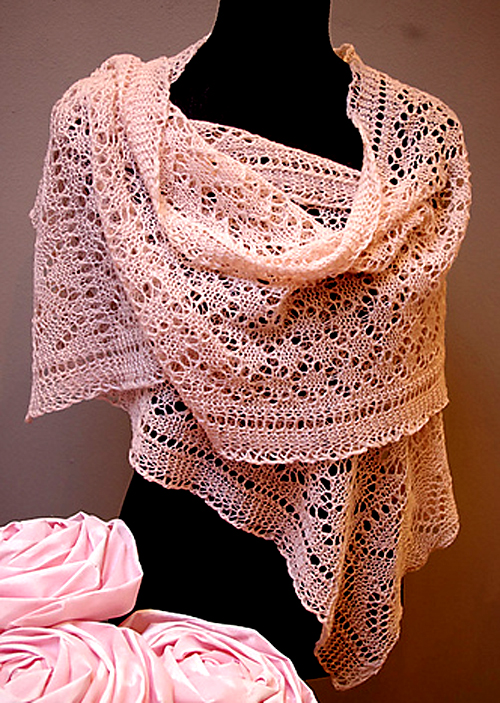 K4C Lace Shawl - Free Pattern