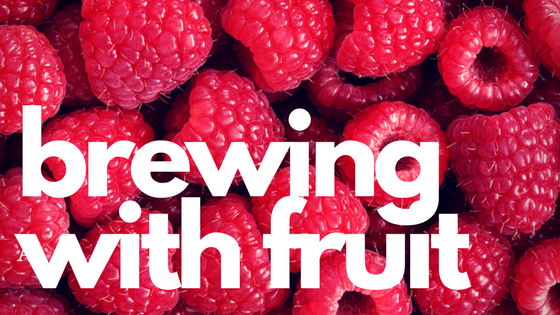 making fruit beer