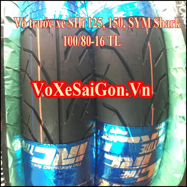 Vỏ xe SH 150i IRC Thái trước 100/80-16 TL