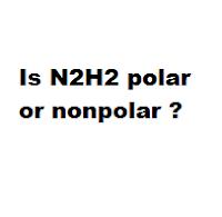 Is N2H2 polar or nonpolar ?