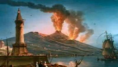 Gunung Santorini Yunani 1620 Masehi