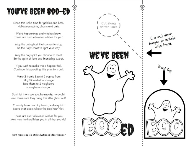 Been Boo-ed Door Hanger PDF