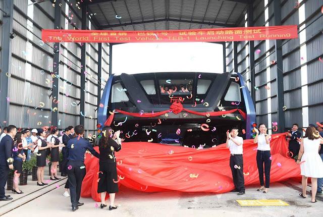 O TEB-1 já fora apresentado seis anos atrás e não apresentou novidades técnicas