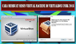 Cara Membuat Mesin Virtual Machine di Virtualbox UNBK 2018