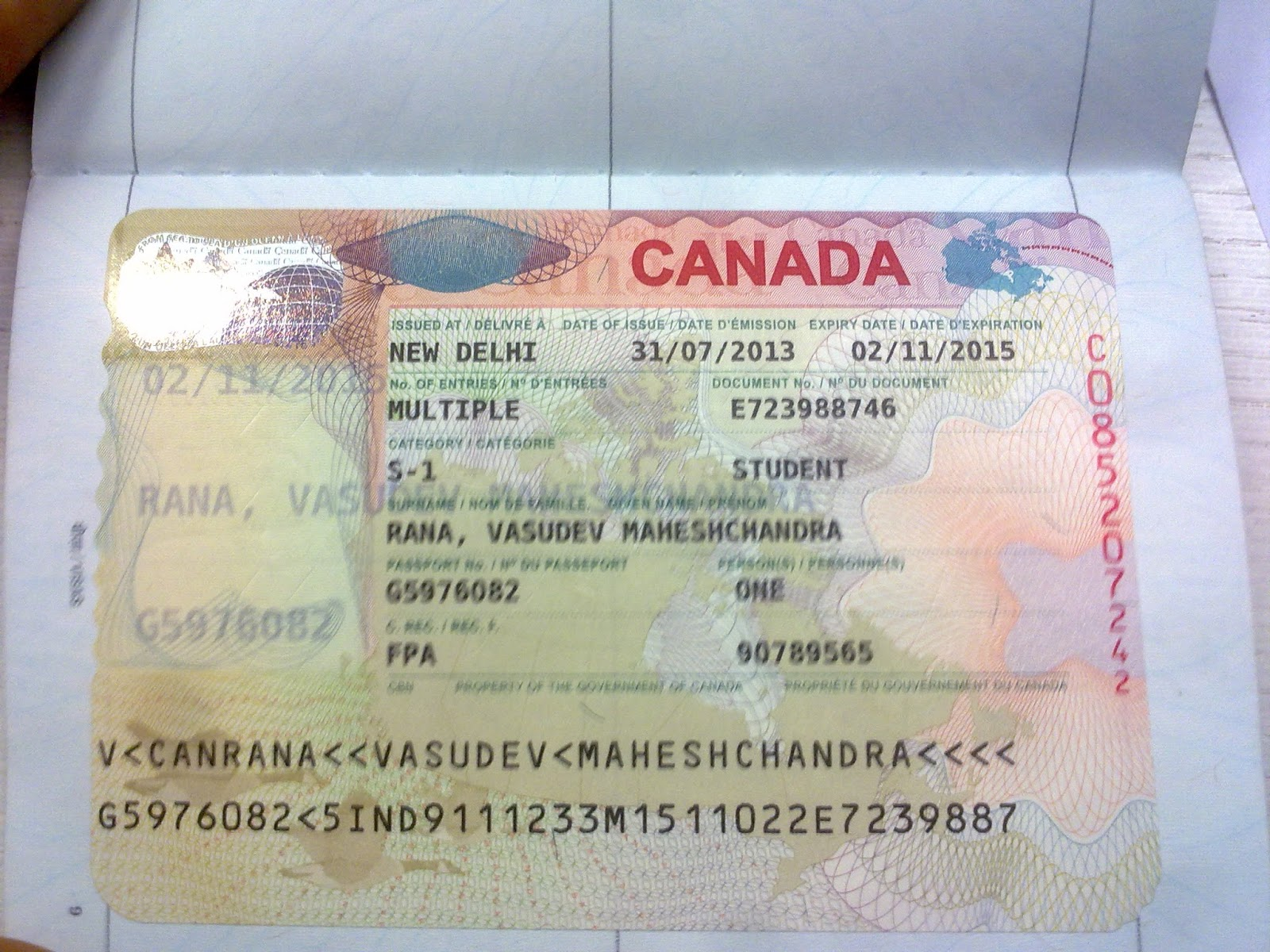 Alien Permanent Resident Of Us Travel To Canada