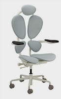 Grey Chakra Chair by Eurotech