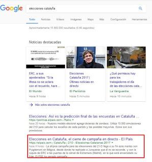 Google - Resultados de búsqueda con más de 165 caracteres