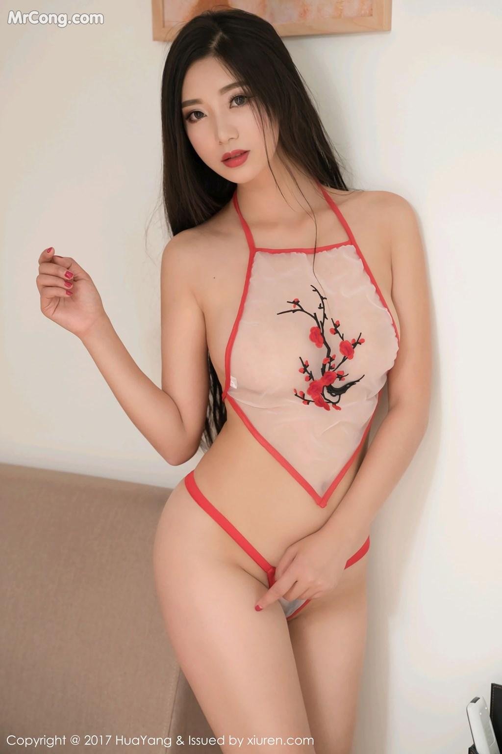 Image HuaYang-2017-11-10-Vol.015-KiKi-MrCong.com-016 in post HuaYang 2017-11-10 Vol.015: Người mẫu 宋-KiKi (45 ảnh)