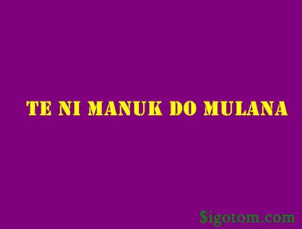 Teni Manuk Do Mulana