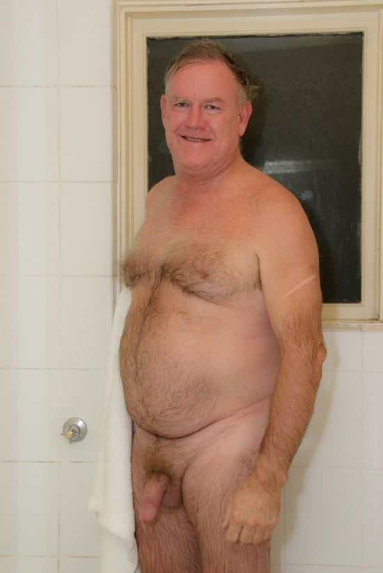 Gay senior nudist