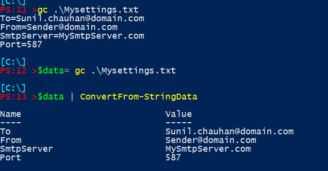 Powershell Tips] Convert String Data into a hash table