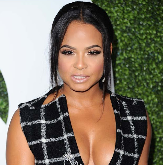Christina Milian hot seen stills at The GQ Men of The Year Awards 2016