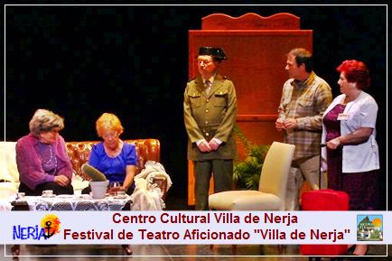 Todos los años se celebra el Festival de Teatro Aficionado Villa de Nerja
