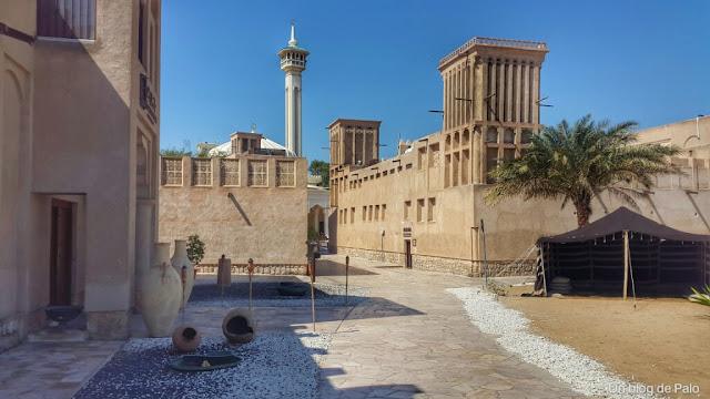 barrio histórico Bastakia Dubai