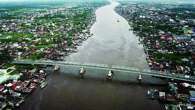 sungai kapuas kalbar