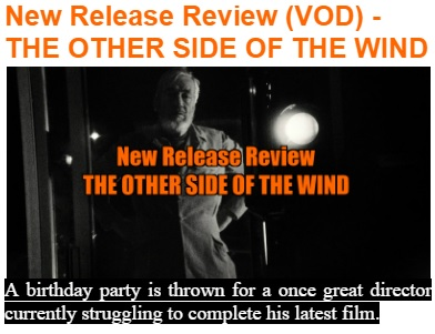 the other side of the wind review
