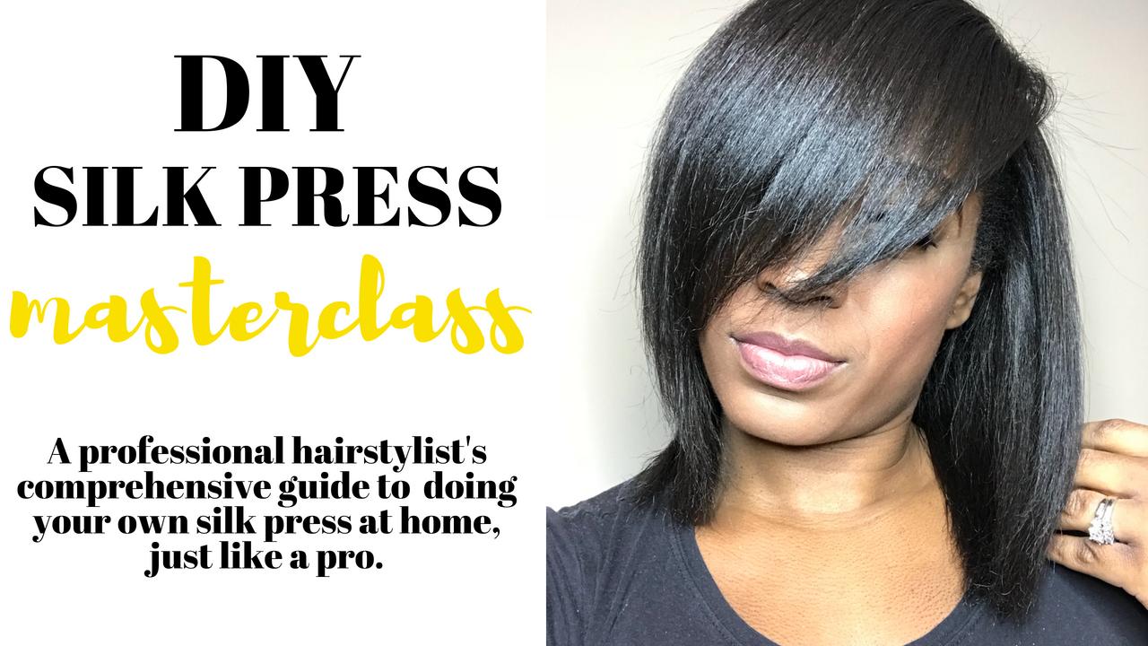 Can A Silk Press Damage Your Hair Latoya Jones