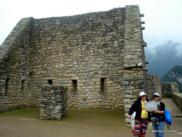 Templo de Wiracocha, Machu Picchu, Peru