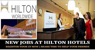 Hilton Hotel Jobs in Dubai