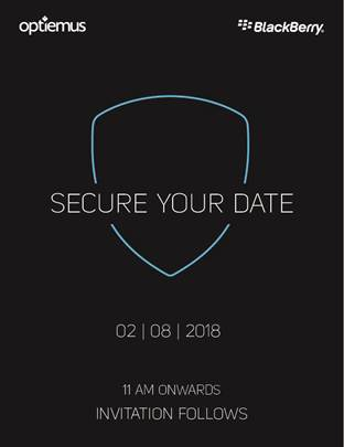 Evolve and Evolve X expected to be launch on August 2 as Blackberry send invitation to media for launch event.