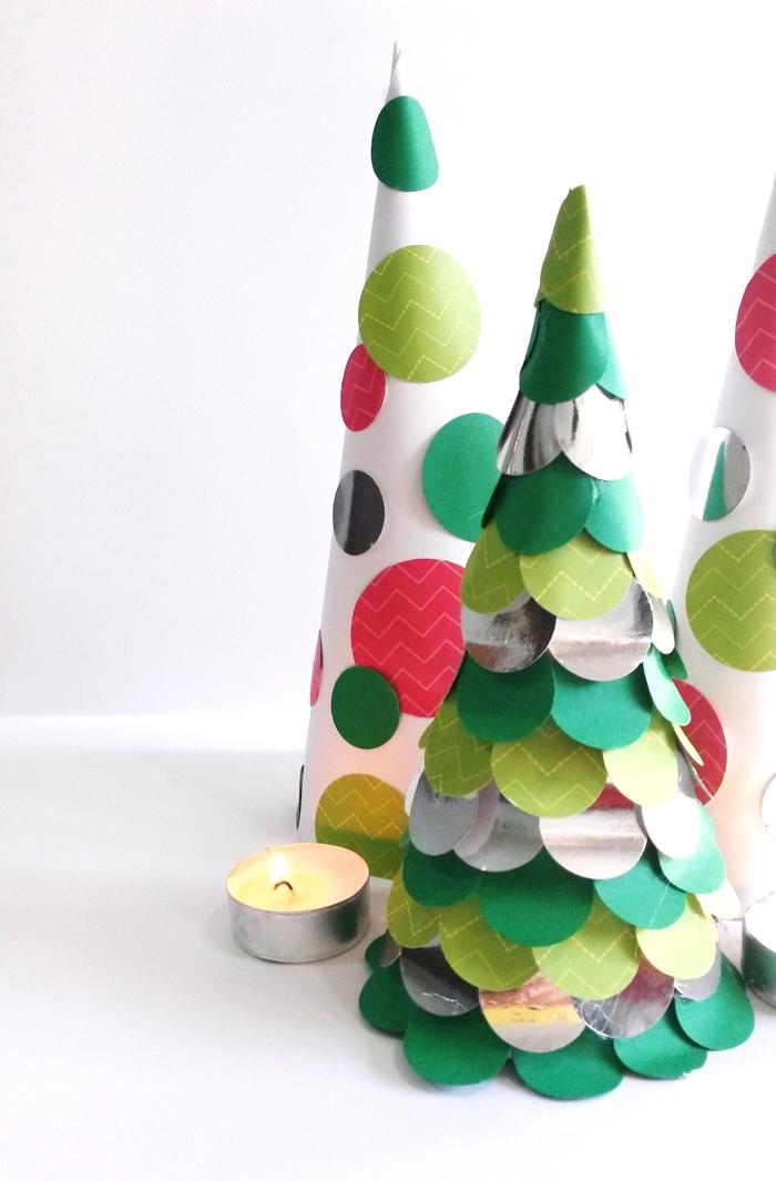 Raquel entre papel como hacer un arbol de navidad de papel - Como hacer un arbol de navidad de papel ...