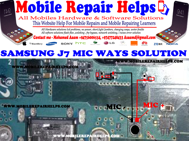 SAMSUNG J7 MIC SOLUTION 100% SUCCESS ~