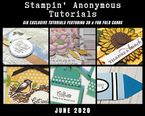 JUNE STAMPIN'ANONYMOUS TUTORIALS